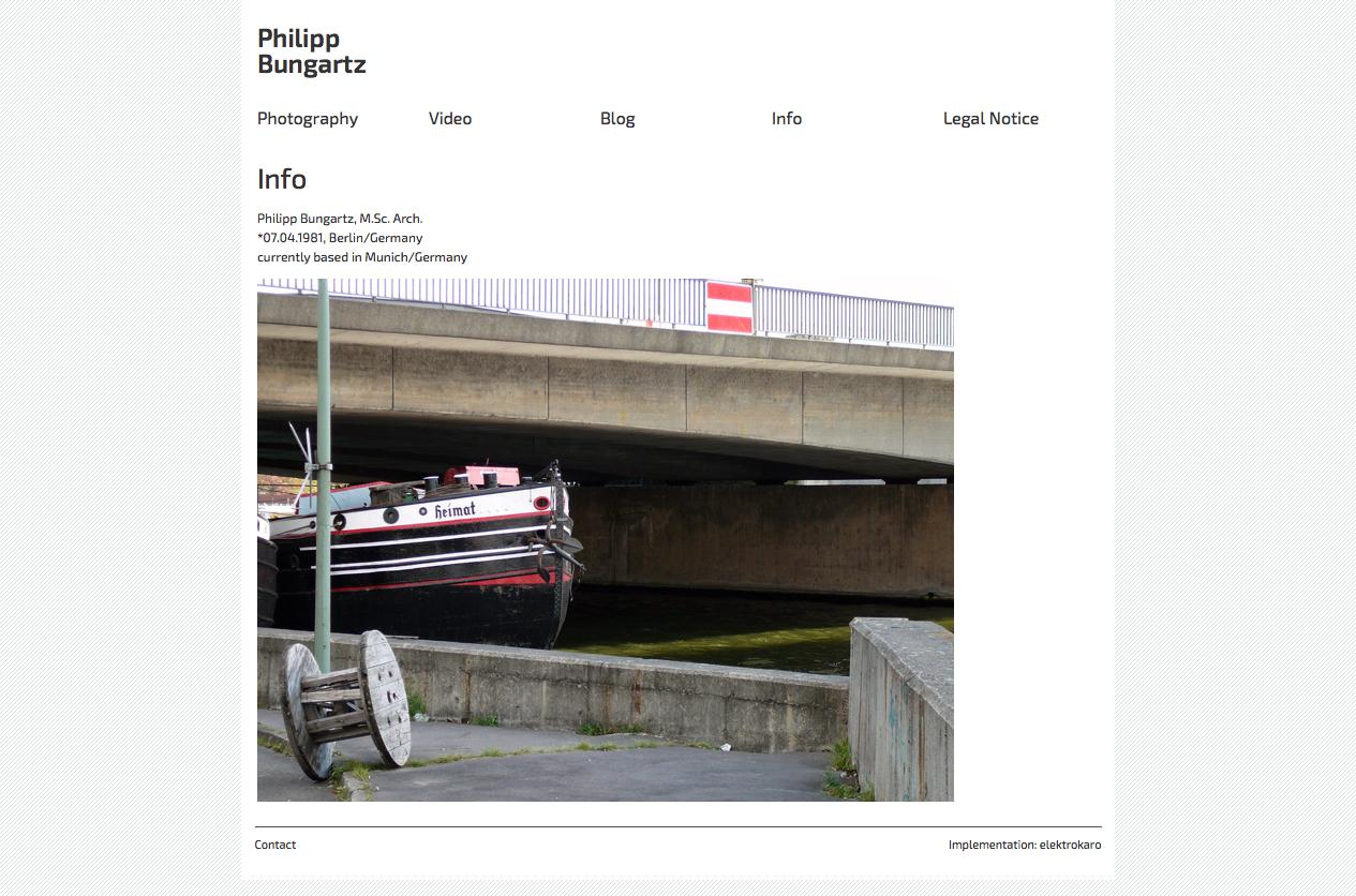 Info  Philipp Bungartz